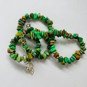 🌸JAY KING GREEN TURQUOISE NECKLACE
